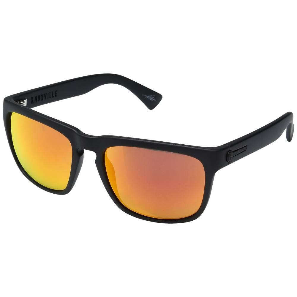 エレクトリック メンズ ファッション小物 メガネ・サングラス【Knoxville】Matte Black/Optical Health Through Melanin Grey Fire Chrome