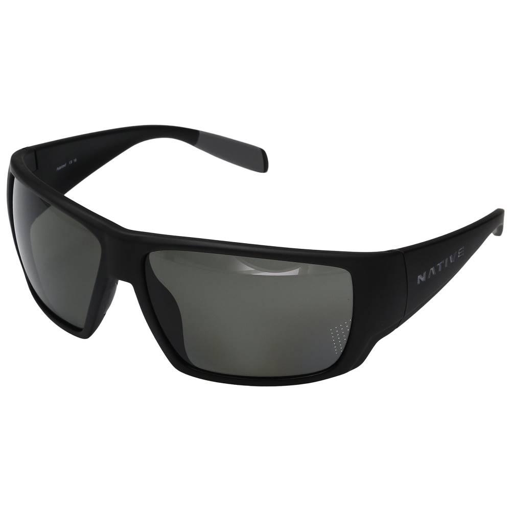 ネイティブアイウェア メンズ ファッション小物 スポーツサングラス【Sightcaster】Matte Black