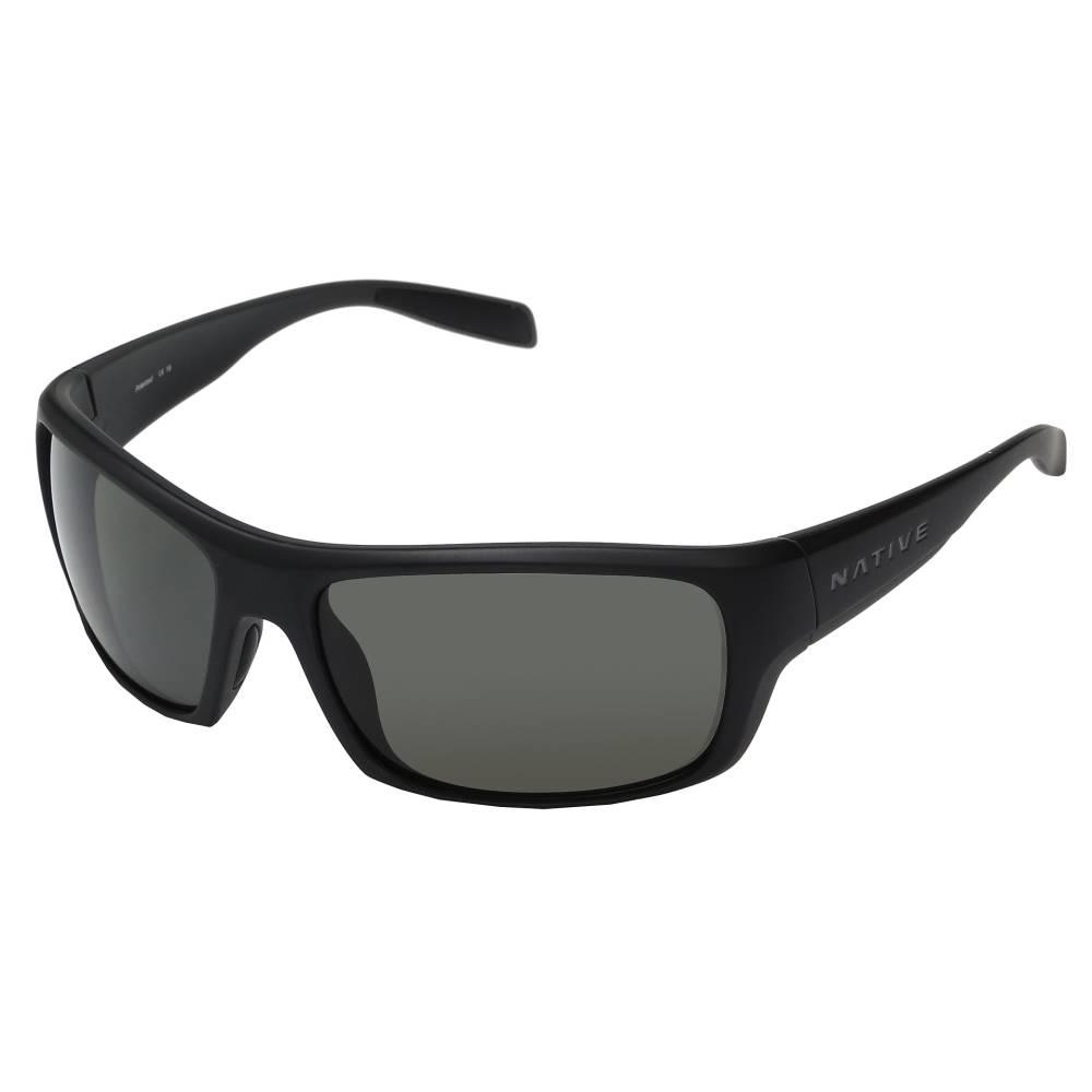 日本最大の ネイティブアイウェア メンズ ファッション小物 スポーツサングラス【Eddyline】Matte Black メンズ Black/Granite/Granite, クニトミチョウ:8aa638a5 --- canoncity.azurewebsites.net