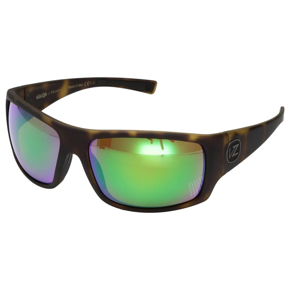 ボンジッパー メンズ ファッション小物 スポーツサングラス【Suplex Polarized】Tortoise Satin/Wild Green Chrome Polar Plus