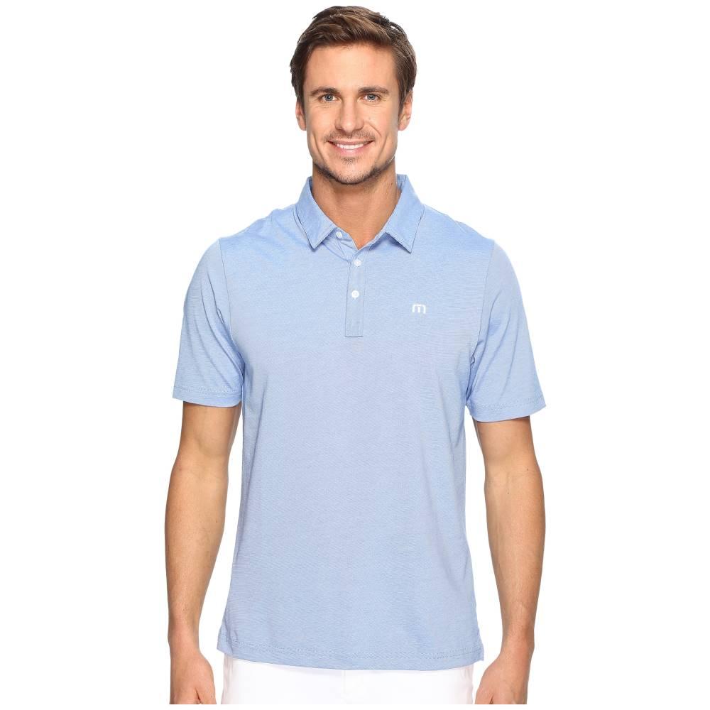 トラビスマシュー メンズ トップス ポロシャツ【The Zinna Polo】Strong Blue