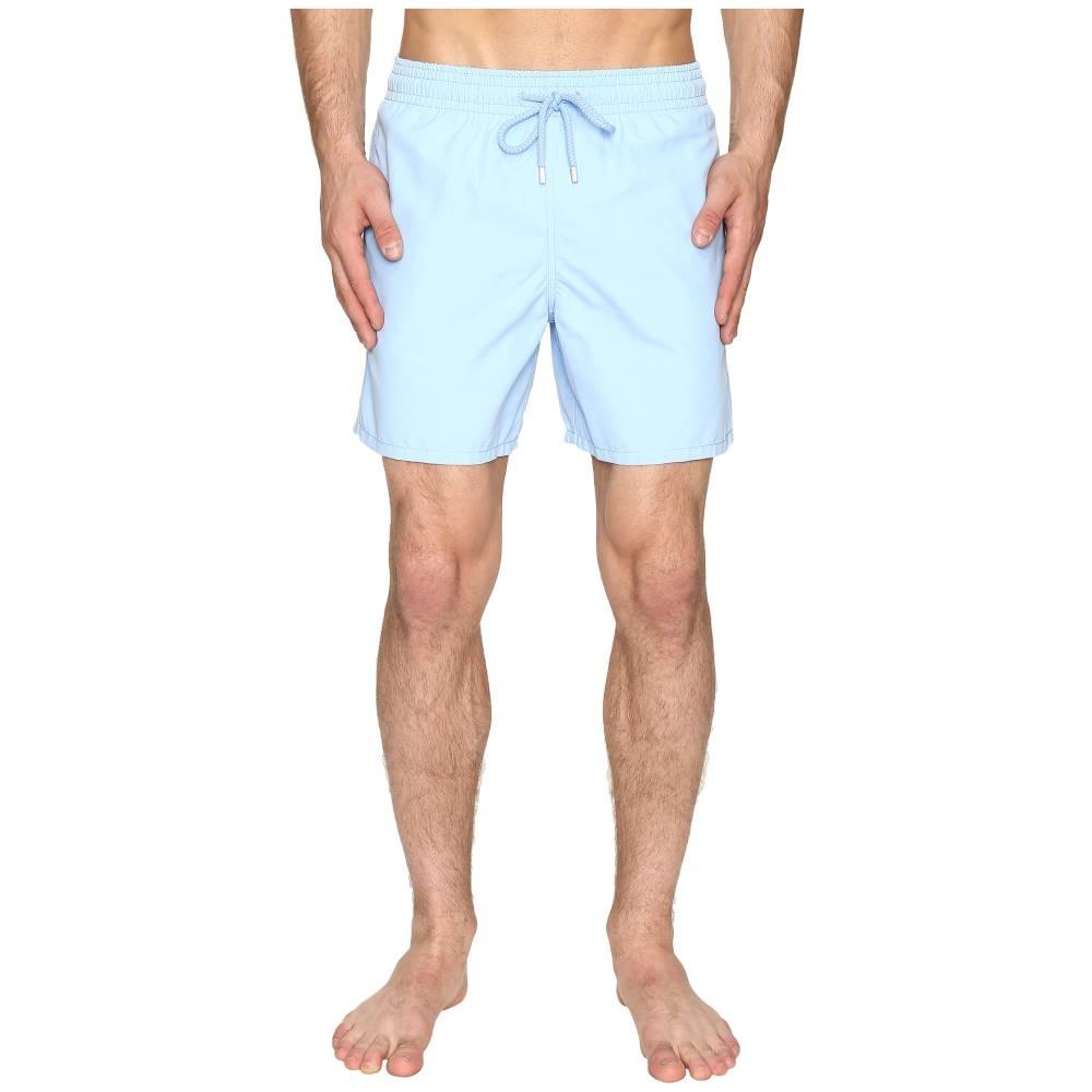 ヴィルブレクイン メンズ 水着・ビーチウェア 海パン【Moorea Classic Solid Swim Trunk】Light Blue