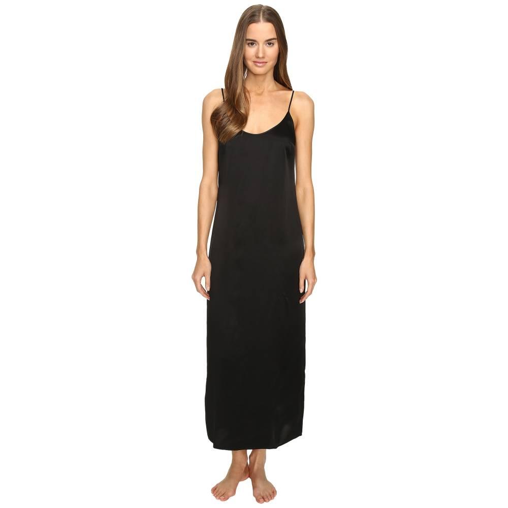 ラ ペルラ レディース インナー・下着 パジャマ・上下セット【Silk Night Gown】Black