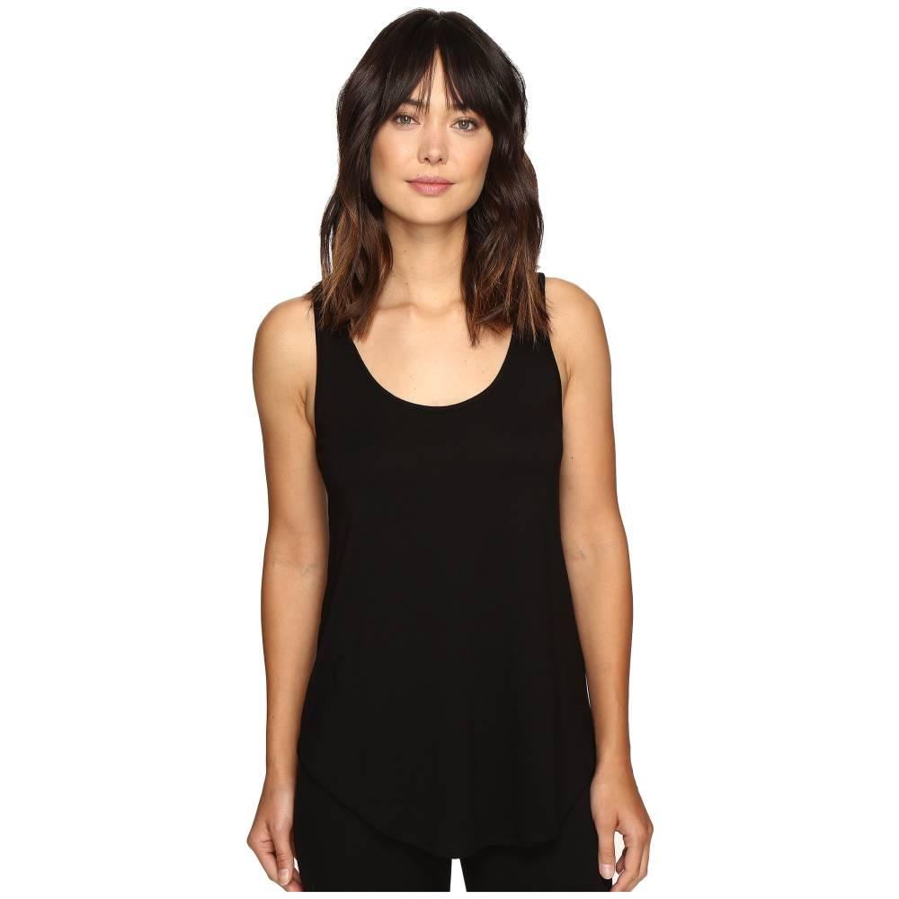 リラピー レディース トップス タンクトップ【Pima Modal Shirttail Scoop】Black