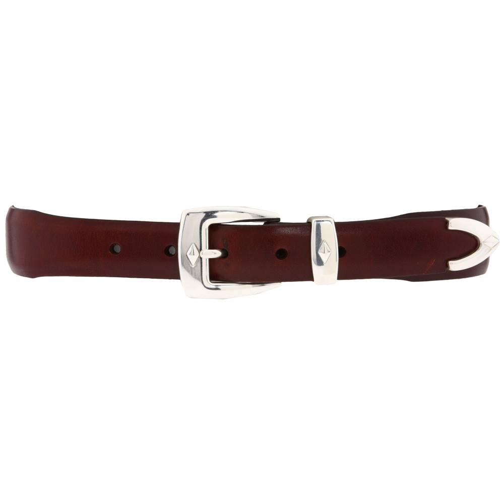 ブライトン メンズ ファッション小物 ベルト【Denver Diamond Belt】Brown