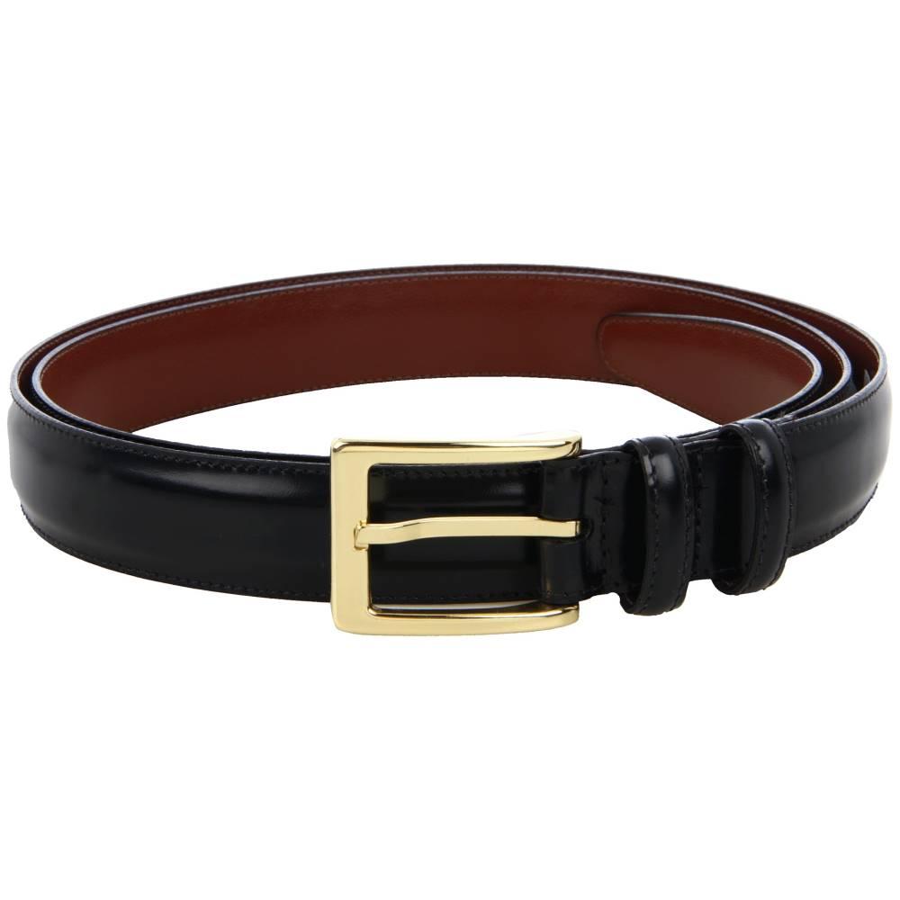 トリノレザー メンズ ファッション小物 ベルト【Big and Tall 30MM Antigua Leather】Black