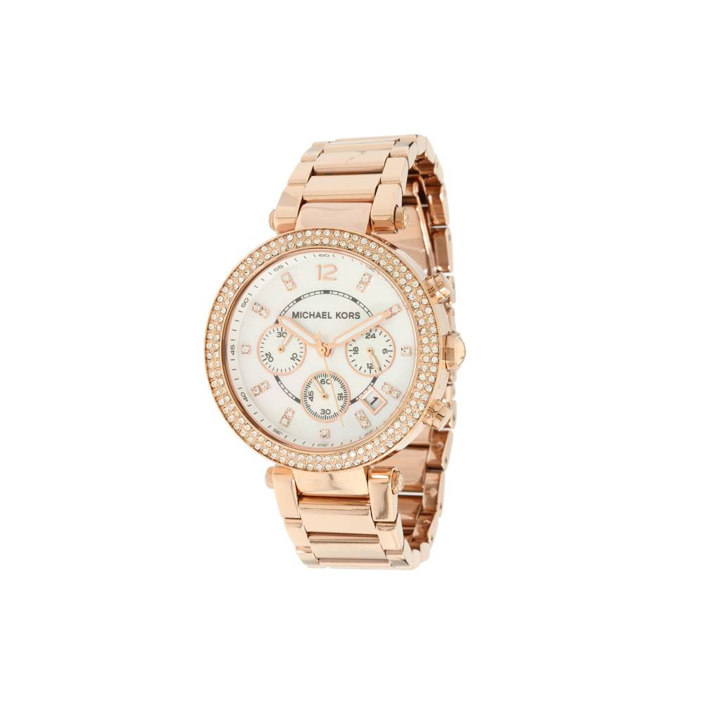 マイケル コース レディース 財布・時計・雑貨 腕時計【MK5491 - Parker Chronograph】Rose Gold IP