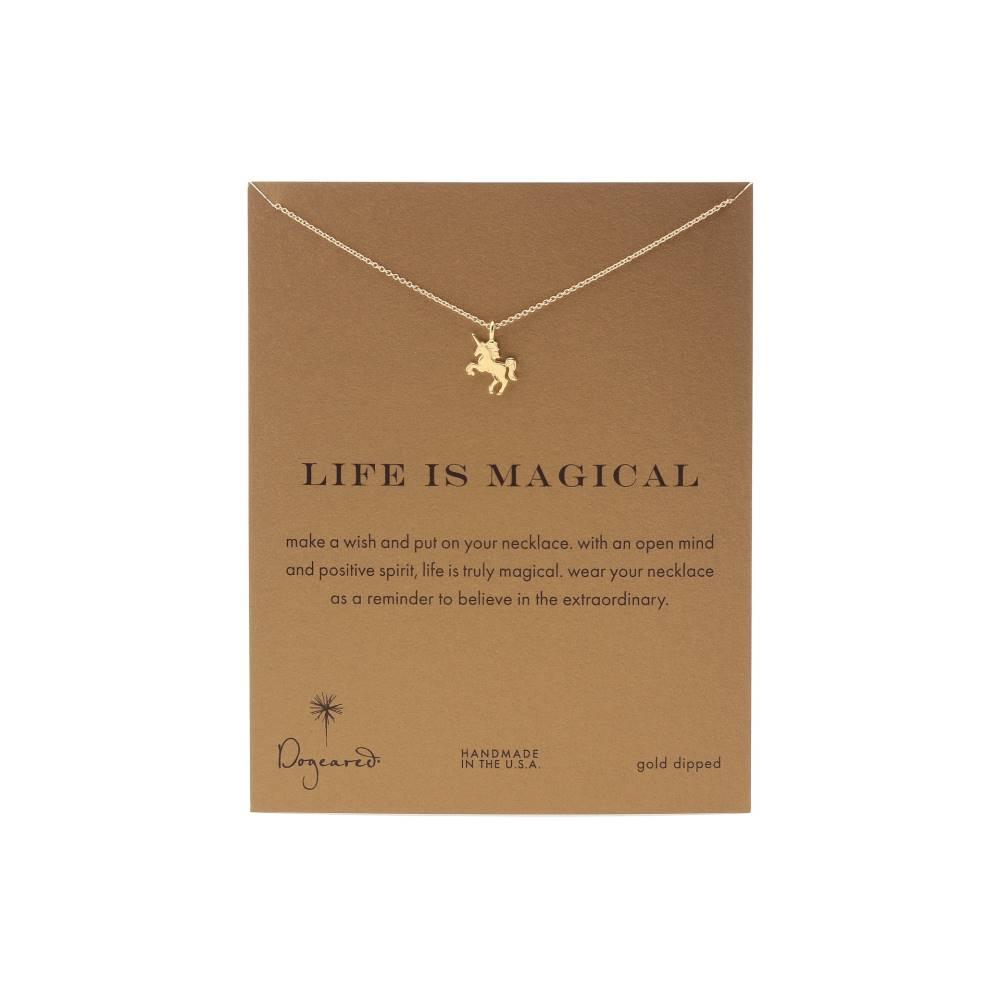 ドギャード レディース ジュエリー・アクセサリー ネックレス【Life is Magial Unicorn Reminder Necklace】Gold