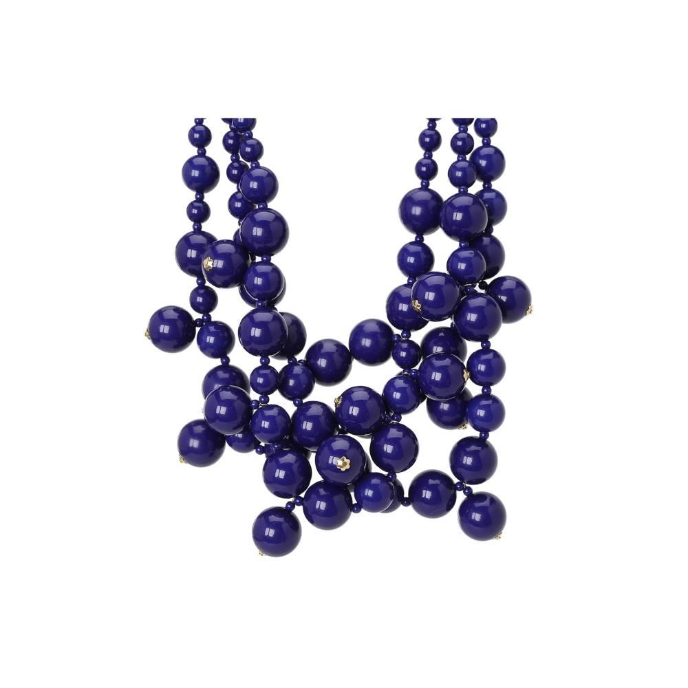 ケネスジェイレーン レディース ジュエリー・アクセサリー ネックレス【Multi Bead Necklace】Lapis