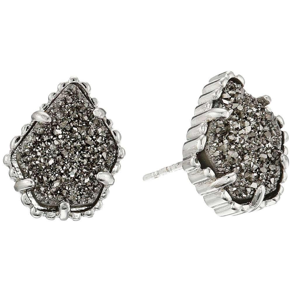 ケンドラ スコット レディース ジュエリー・アクセサリー イヤリング・ピアス【Tessa Earring】Rhodium Platinum Drusy