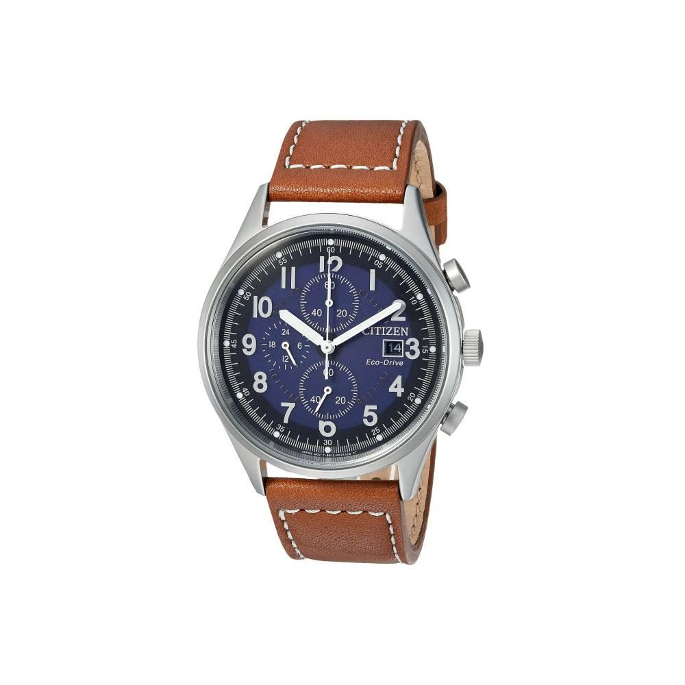 シチズン メンズ 財布・時計・雑貨 腕時計【CA0621-05L Eco-Drive】Brown