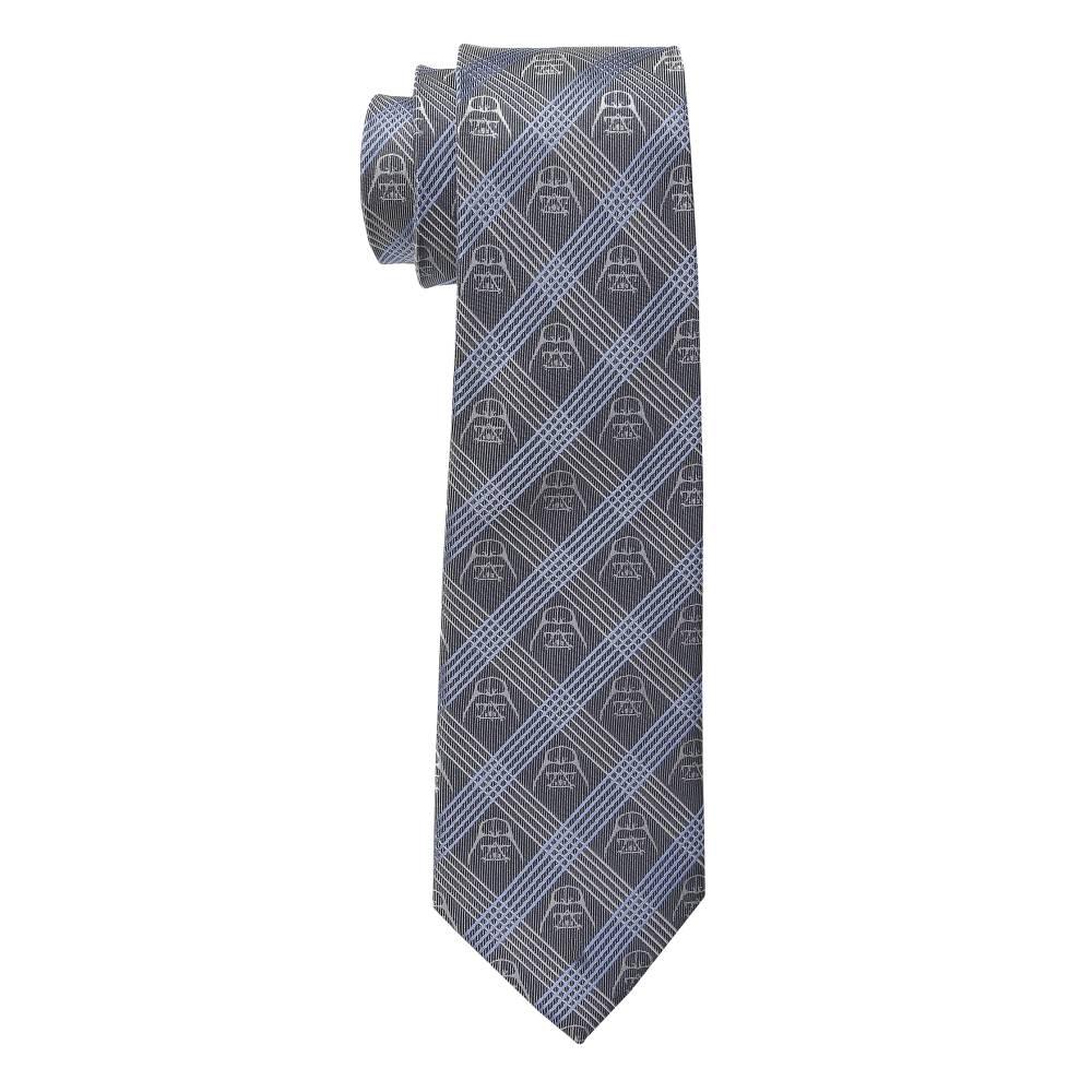 カフリンクス メンズ ファッション小物 ネクタイ【Star Wars' Darth Vader Plaid Tie】Blue