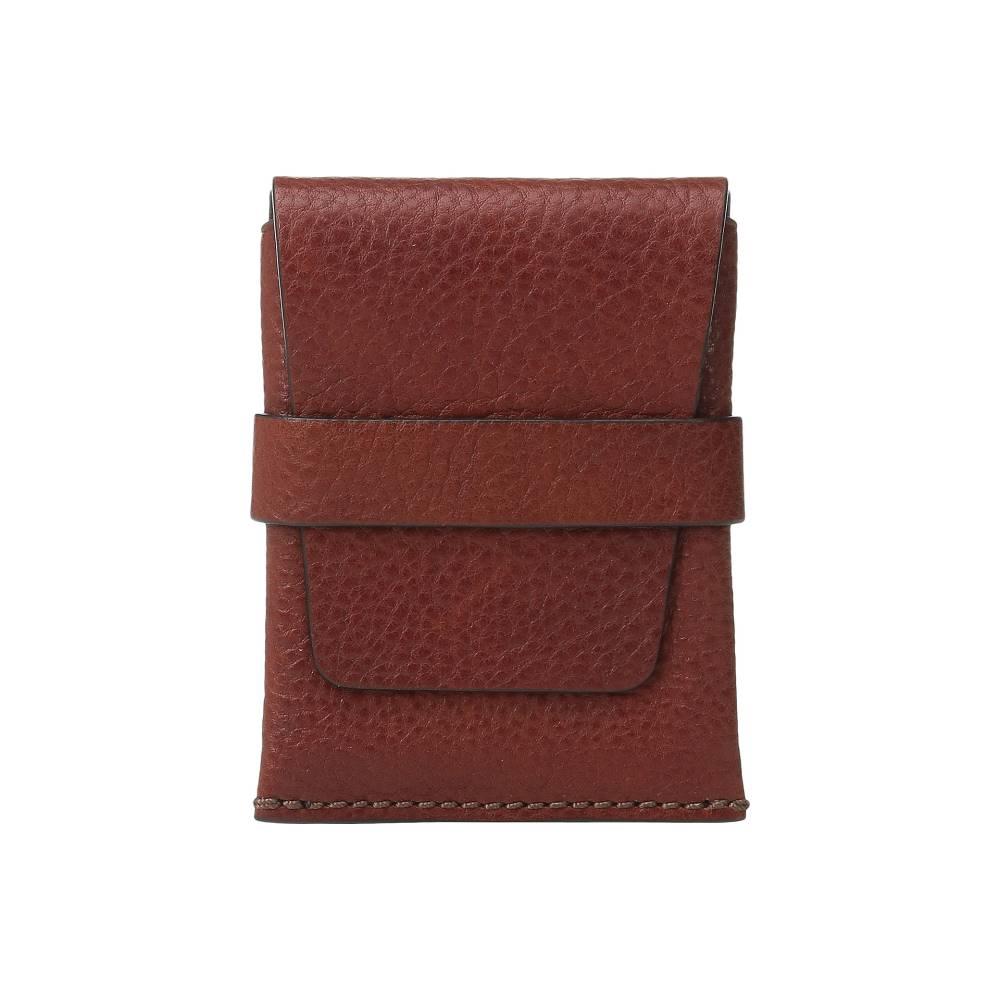 ボスカ メンズ 財布・時計・雑貨 カードケース・名刺入れ【Washed Collection - Envelope Card Case】Cognac