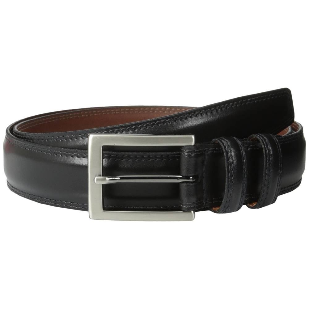 トリノレザー メンズ ファッション小物 ベルト【32MM Aniline Leather】Black