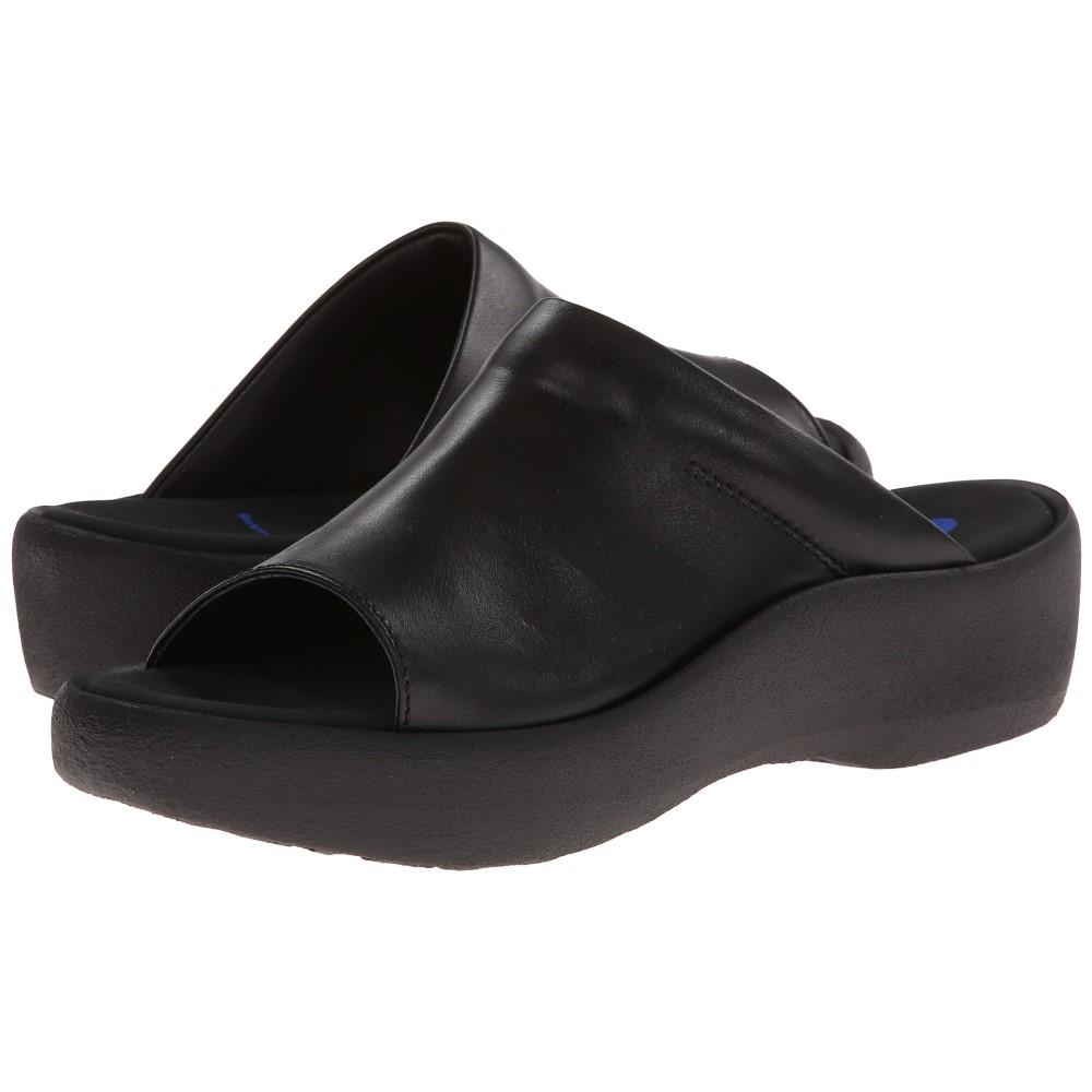 ウォーキー レディース シューズ・靴 サンダル・ミュール【Nassau】Black Smooth