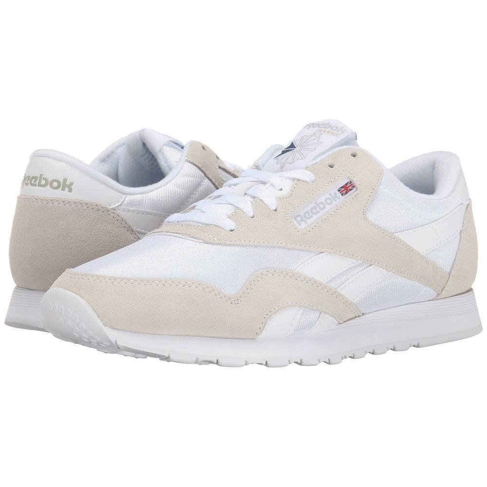 リーボック メンズ シューズ・靴 スニーカー【Classic Nylon】White/Light Grey