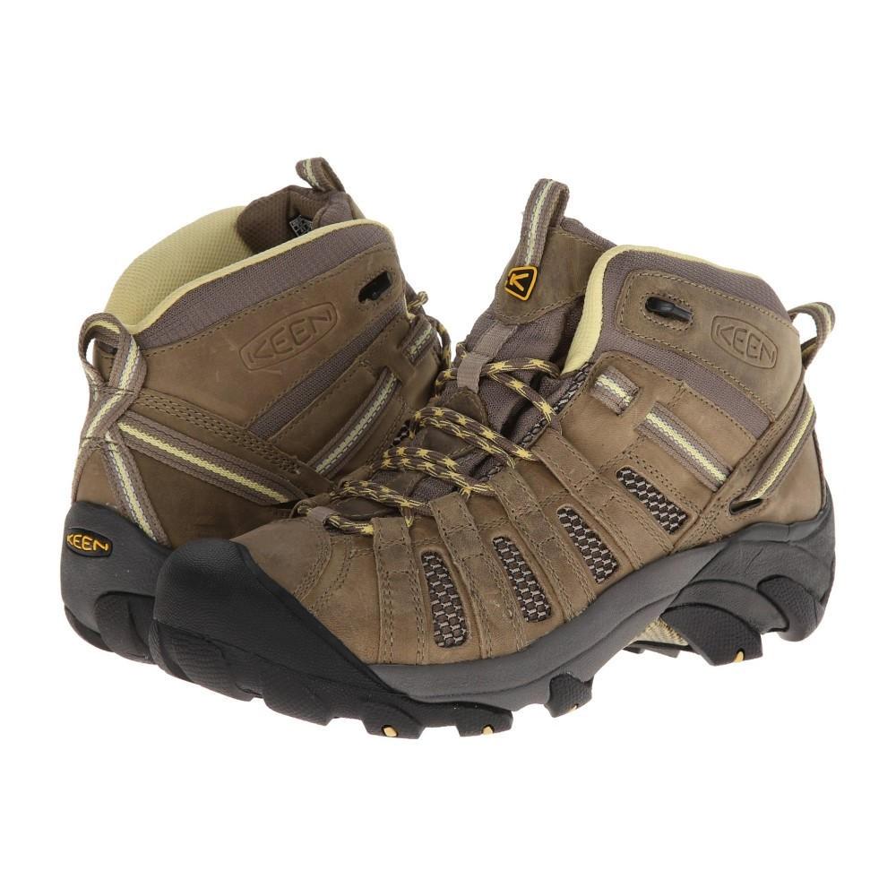 キーン レディース シューズ・靴 ブーツ【Voyageur Mid】Brindle/Custard