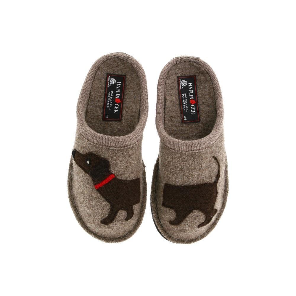 ハフリンガー レディース シューズ・靴 スリッパ【Doggy Slipper】Earth
