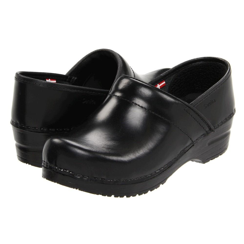 サニタ レディース シューズ・靴 サンダル・ミュール【Professional Cabrio】Black Brush Off Leather