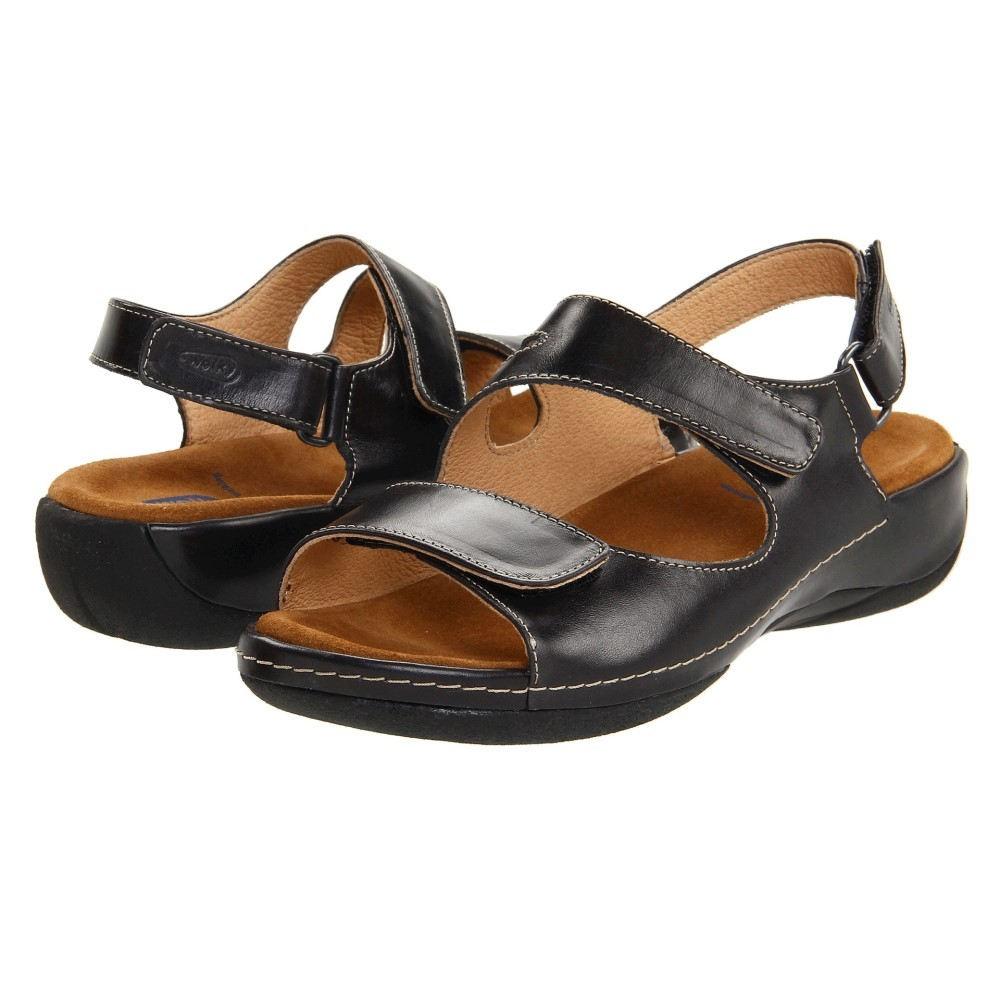 ウォーキー レディース シューズ・靴 サンダル・ミュール【Liana】Black Smooth Leather