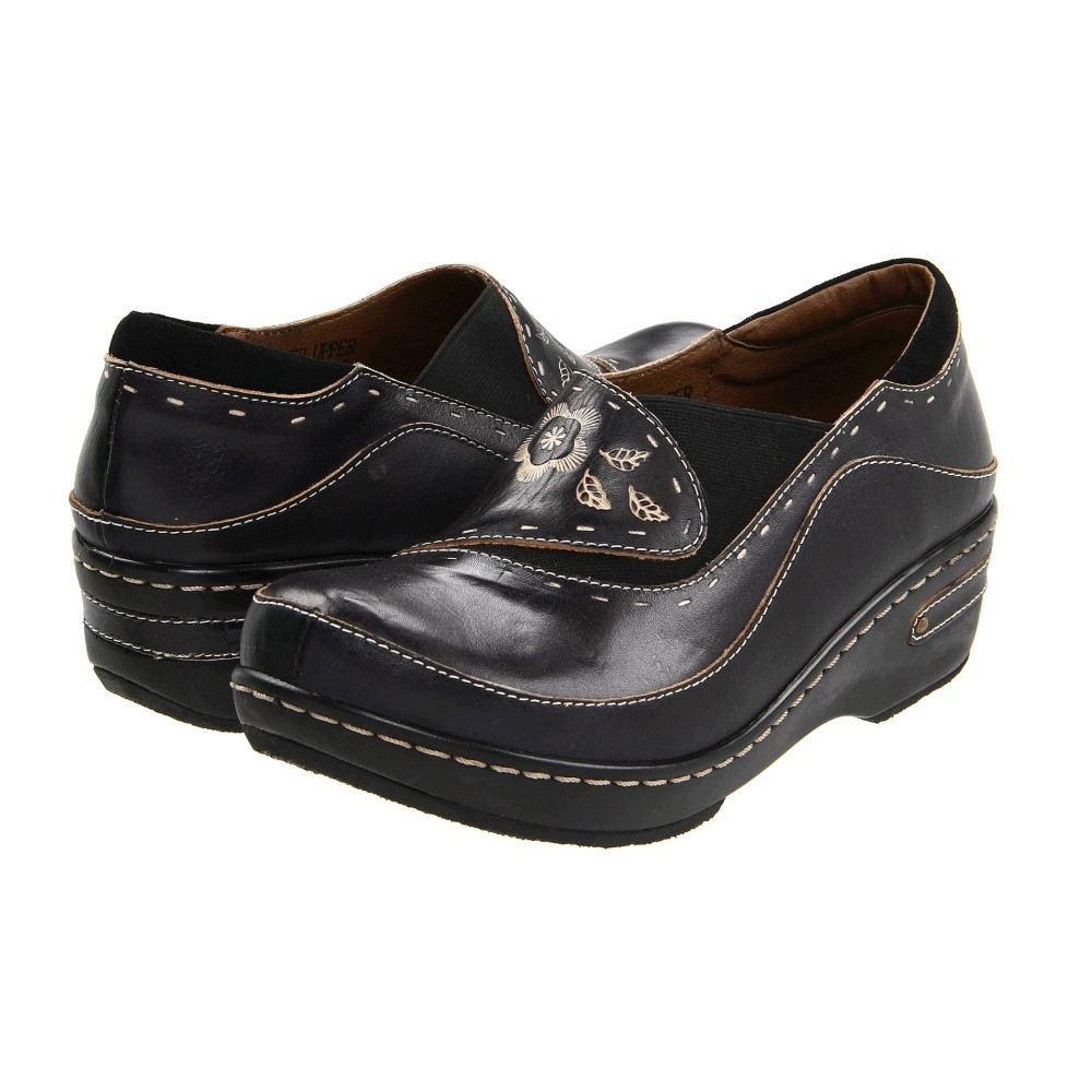 スプリングステップ レディース シューズ・靴 サンダル・ミュール【Burbank】Black