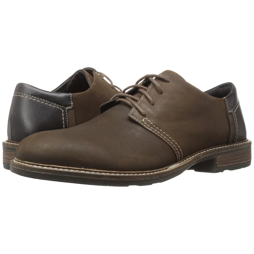 ナオトフットウェアー メンズ シューズ・靴 革靴・ビジネスシューズ【Chief】Oily Brown Nubuck/French Roast Leather/Hazelnut Leather