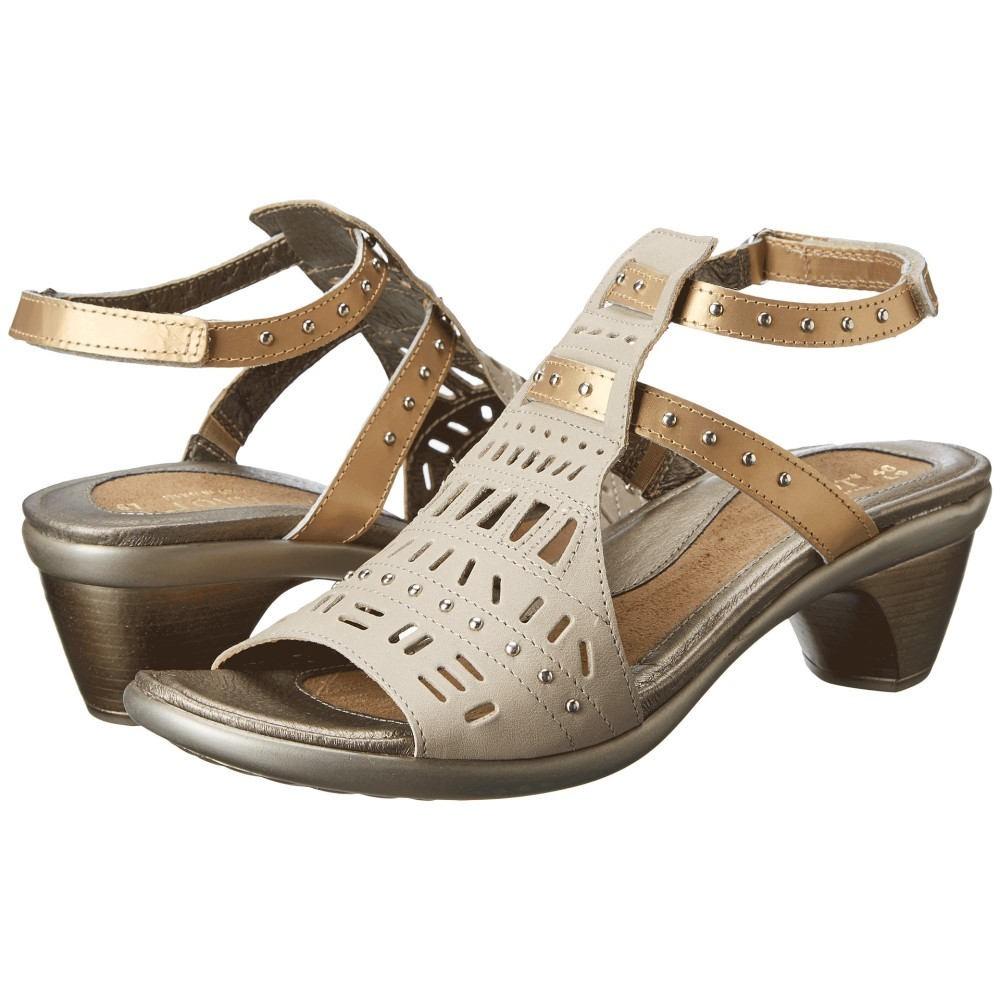 ナオトフットウェアー レディース シューズ・靴 サンダル・ミュール【Vogue】Linen Leather/Gold Sheen Leather