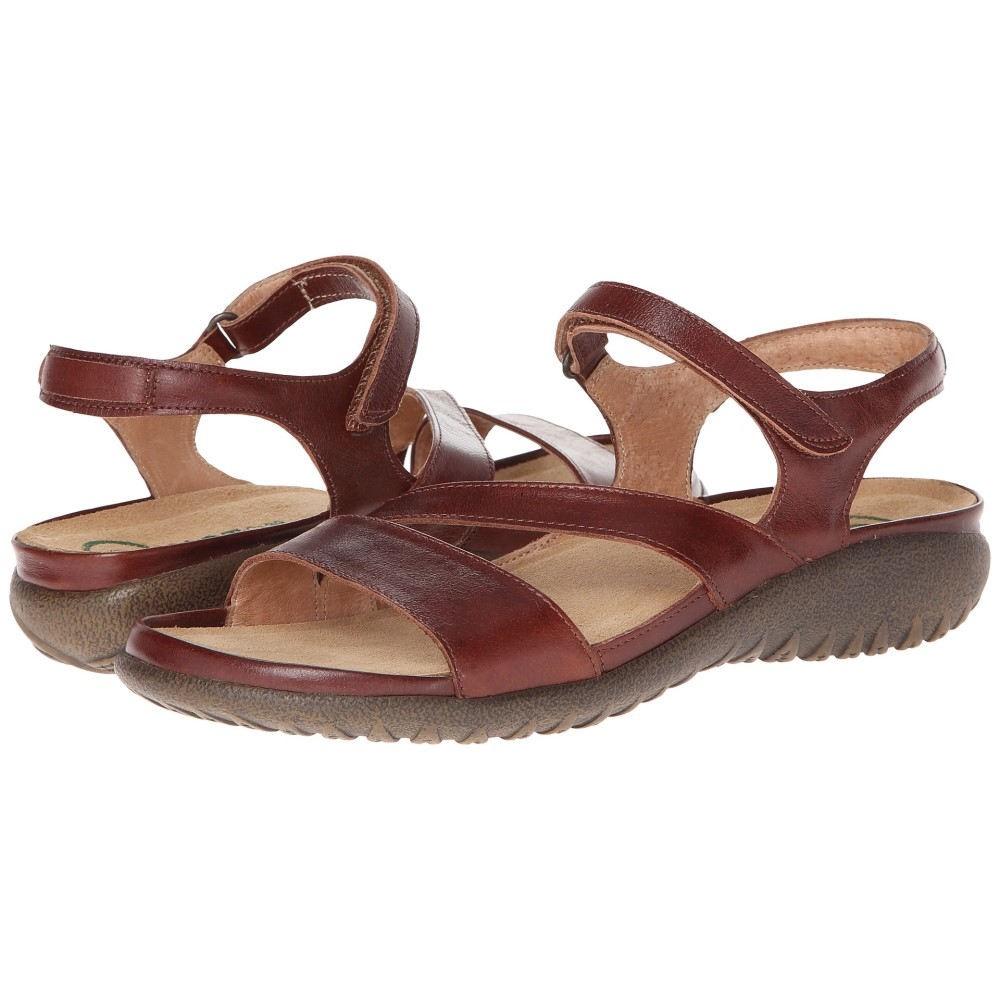 ナオトフットウェアー レディース シューズ・靴 サンダル・ミュール【Etera】Luggage Brown Leather
