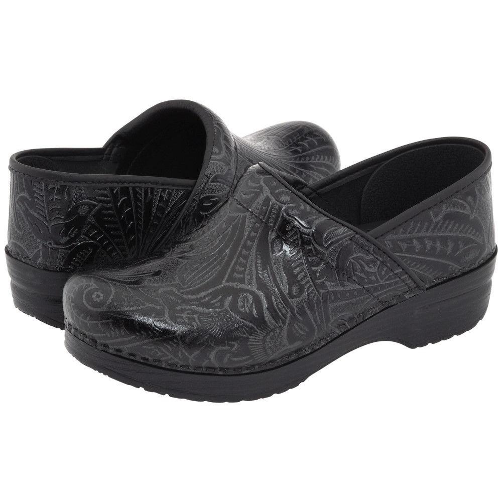 ダンスコ メンズ シューズ・靴 クロッグ【Professional】Black Tooled