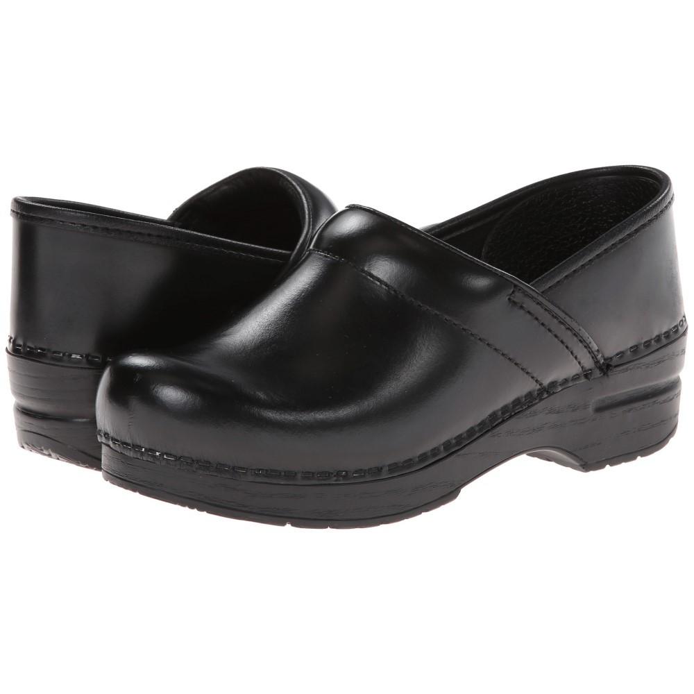 ダンスコ メンズ シューズ・靴 クロッグ【Professional】Black Cabrio Leather