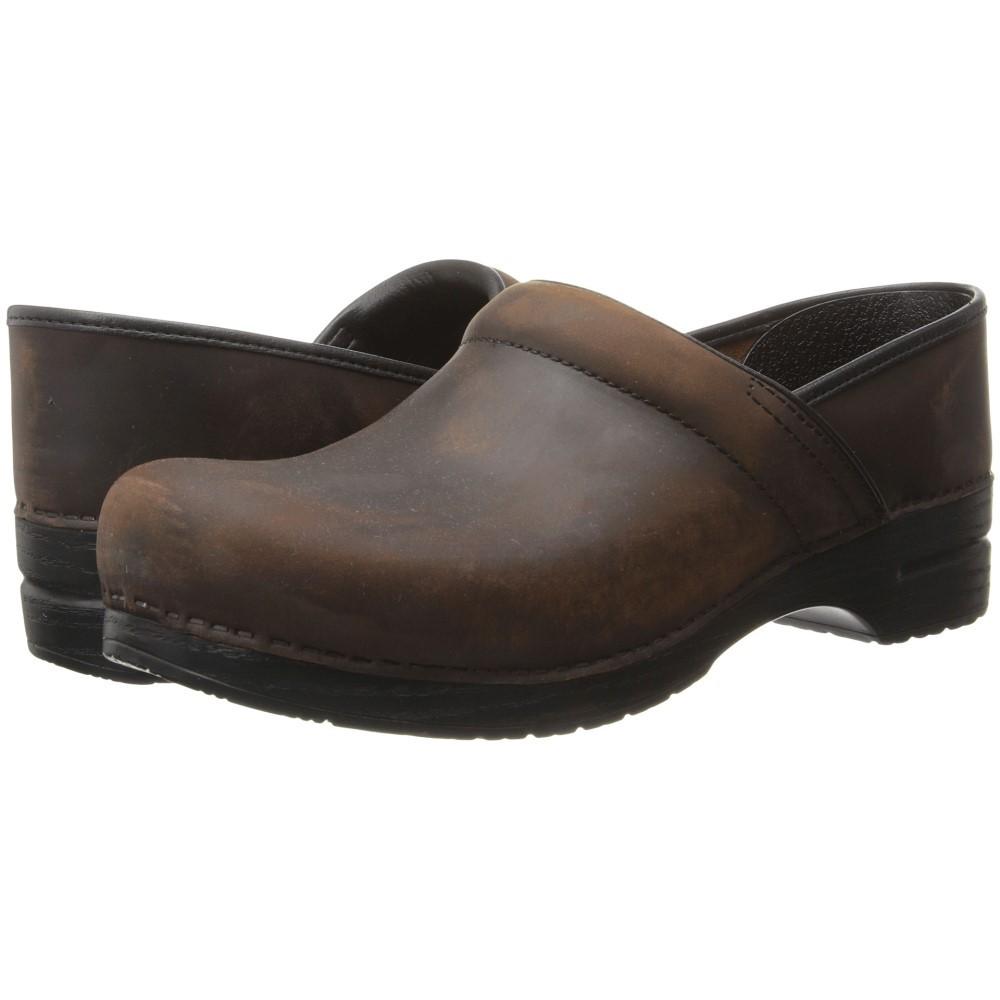 ダンスコ メンズ シューズ・靴 クロッグ【Professional】Antique Brown Oiled Leather