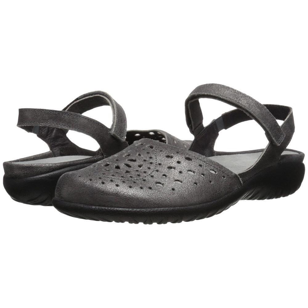 ナオトフットウェアー レディース シューズ・靴 サンダル・ミュール【Arataki】Gray Shimmer Leather