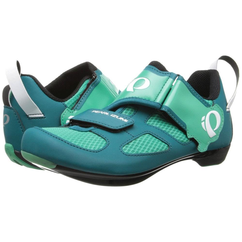 パールイズミ レディース 自転車 シューズ・靴【W Tri Fly V】Deep Lake/Gumdrop
