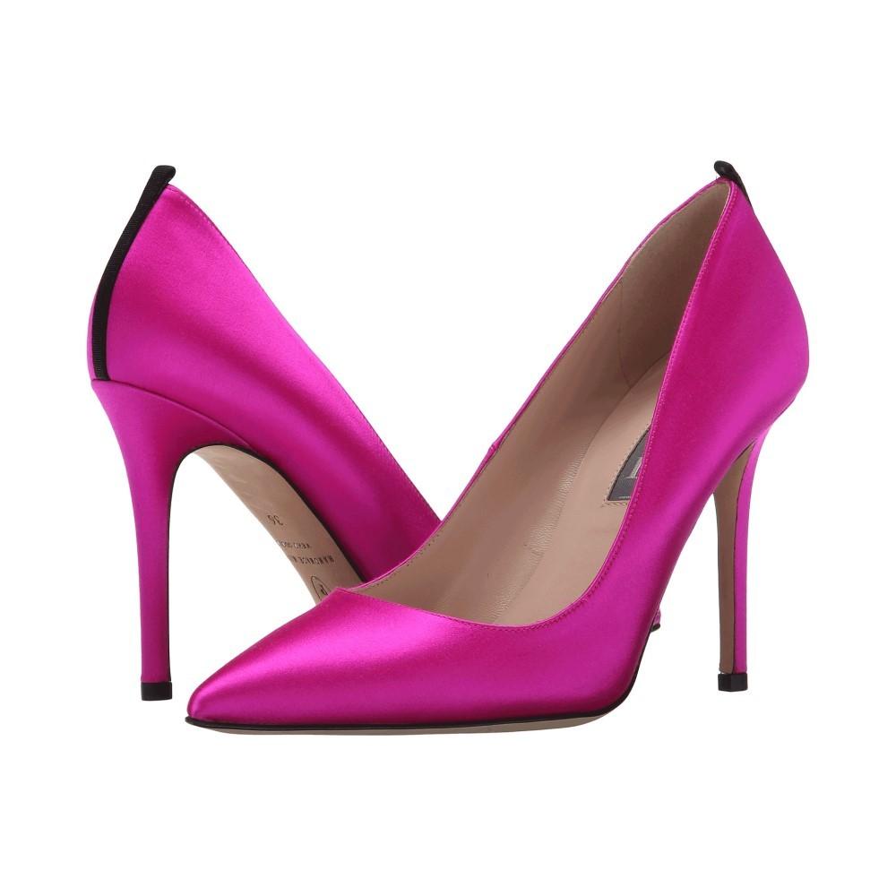 エスジェーピーバイサラジェシカパーカー レディース シューズ・靴 ヒール【Fawn 100mm】Pink Satin