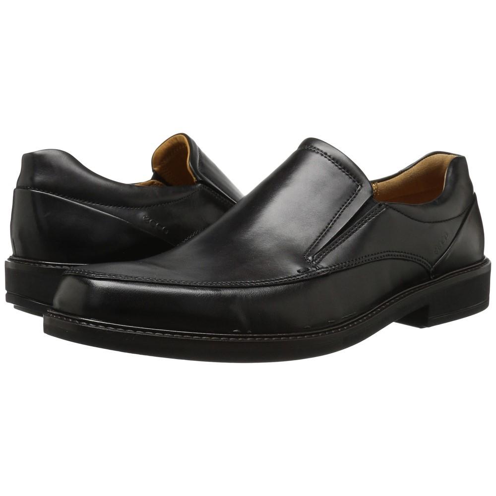 エコー メンズ シューズ・靴 スリッポン・フラット【Holton Apron Toe Slip-On】Black