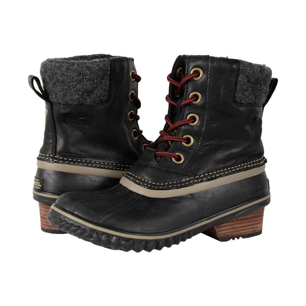 ソレル レディース シューズ・靴 ブーツ【Slimpack II Lace】Black
