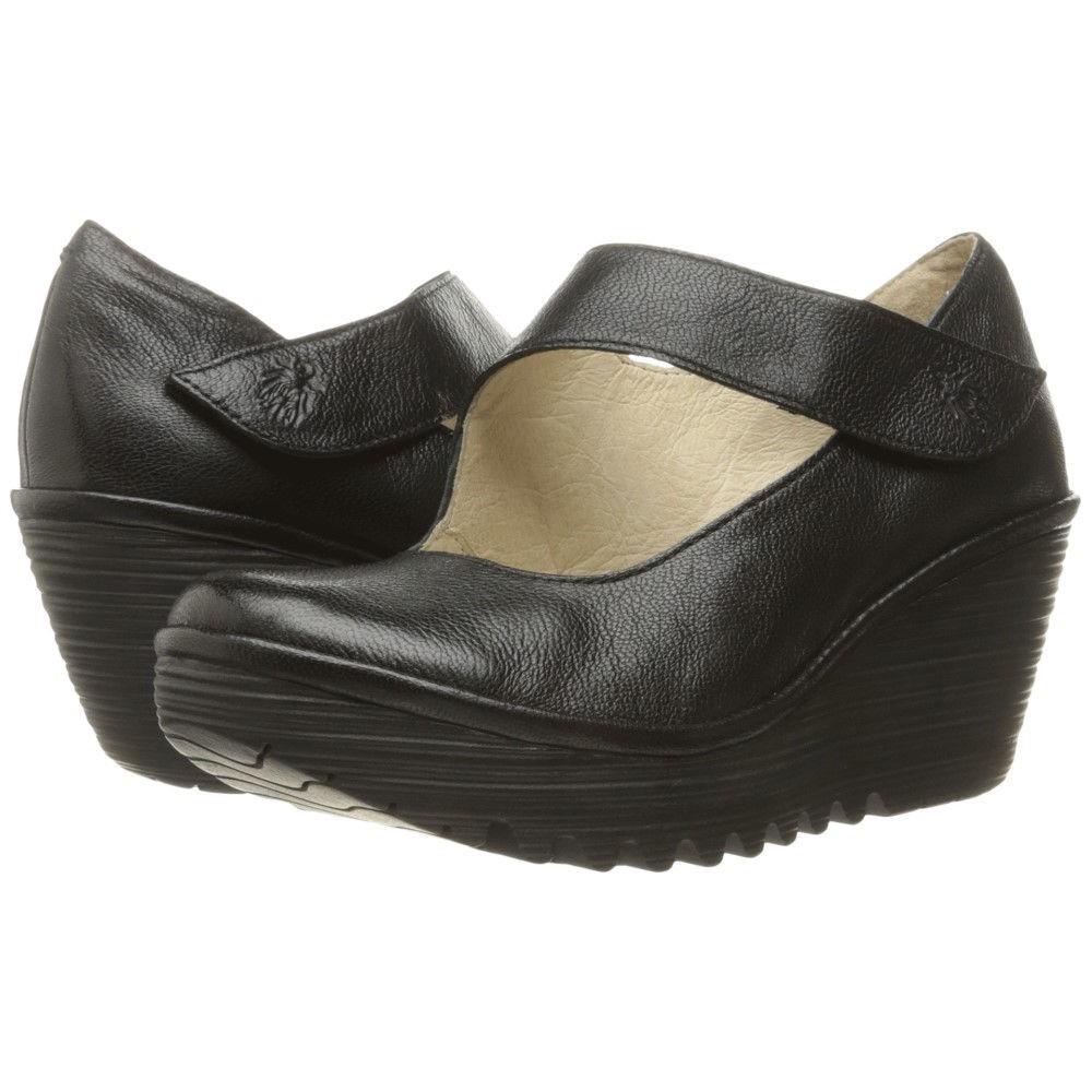 フライロンドン レディース シューズ・靴 ヒール【Yasi682Fly】Black Mousse