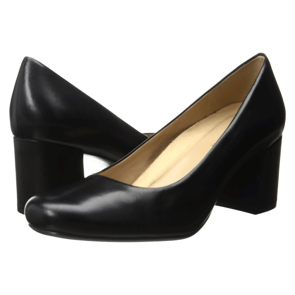 ナチュラライザー レディース シューズ・靴 ヒール【Whitney】Black Leather