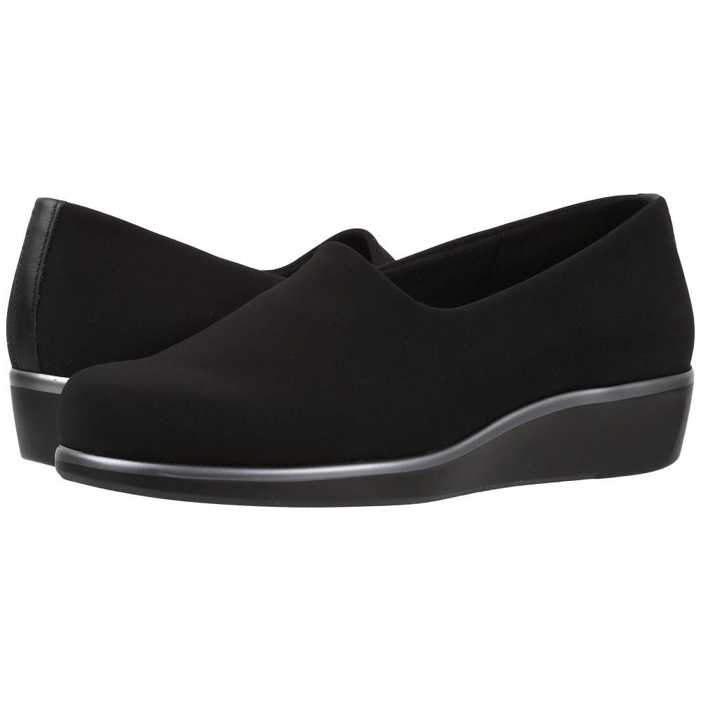 サス レディース シューズ・靴 スリッポン・フラット【Bliss】Black
