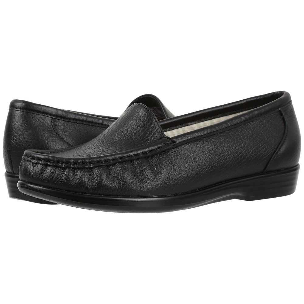 サス レディース シューズ・靴 ローファー・オックスフォード【Simplify】Black