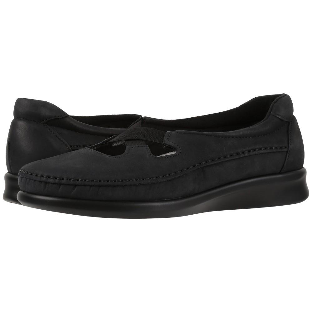 サス レディース シューズ・靴 スリッポン・フラット【Crissy】Nero