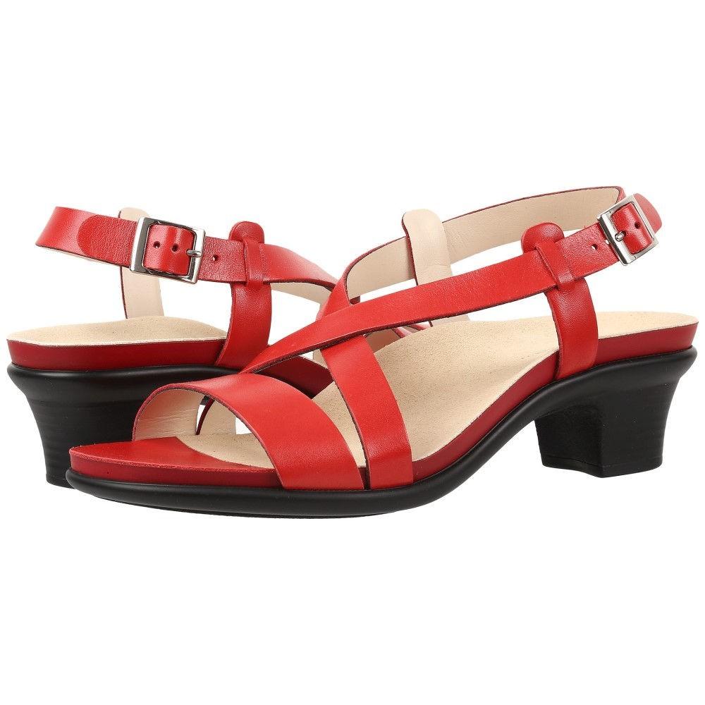 【驚きの値段で】 サス レディース シューズ・靴 サンダル・ミュール【Nouveau】Alfa Red, 真珠のお店 chouchou(シュシュ) 5fe440db