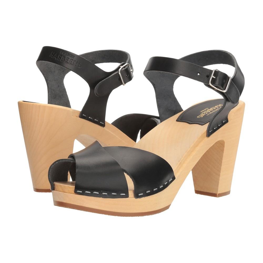 スウェディッシュ ハズビーンズ レディース シューズ・靴 サンダル・ミュール【Merci Sandal】Black