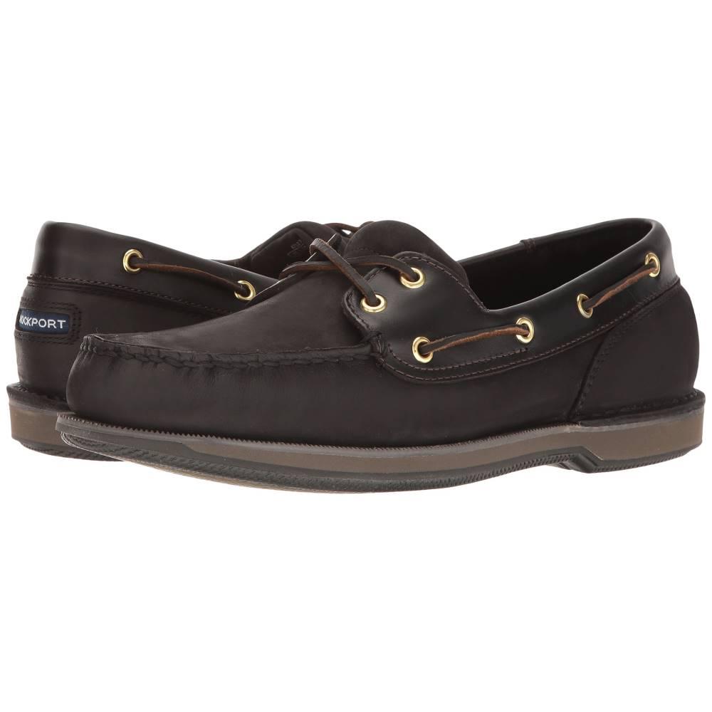 ロックポート メンズ シューズ・靴 シューズ・靴 メンズ デッキシューズ【Ports of ロックポート Call Perth】Black/Bark, ヨサグン:95dc9673 --- officewill.xsrv.jp