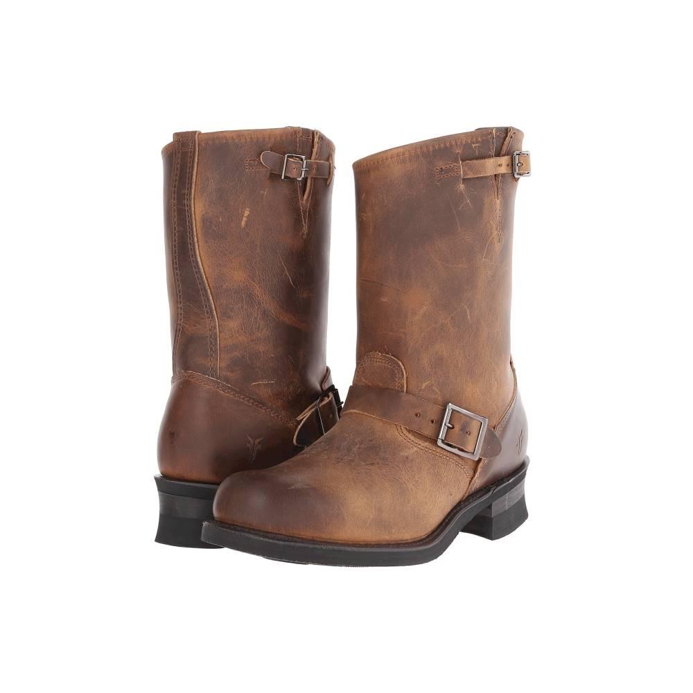 フライ メンズ シューズ・靴 ブーツ【Engineer 12R】Dark Brown Old Town Leather
