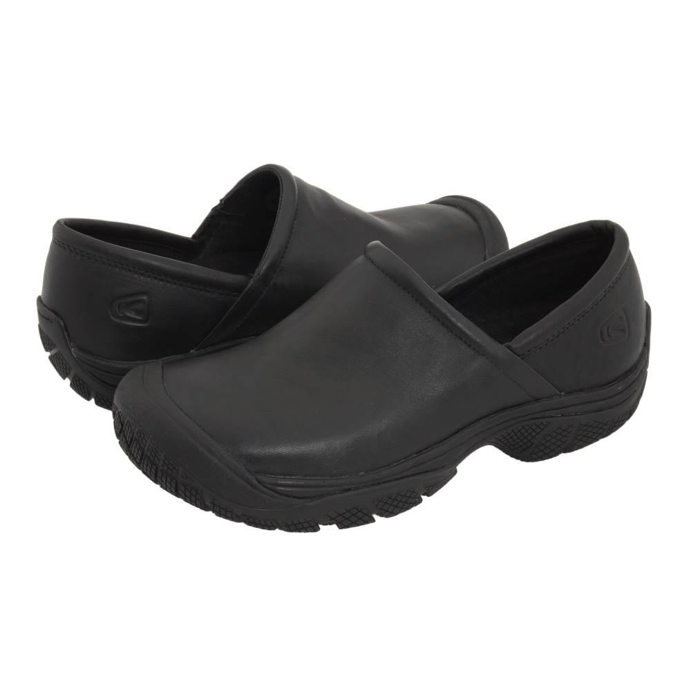 キーン メンズ シューズ・靴 スリッポン・フラット【PTC Slip-On II】Black