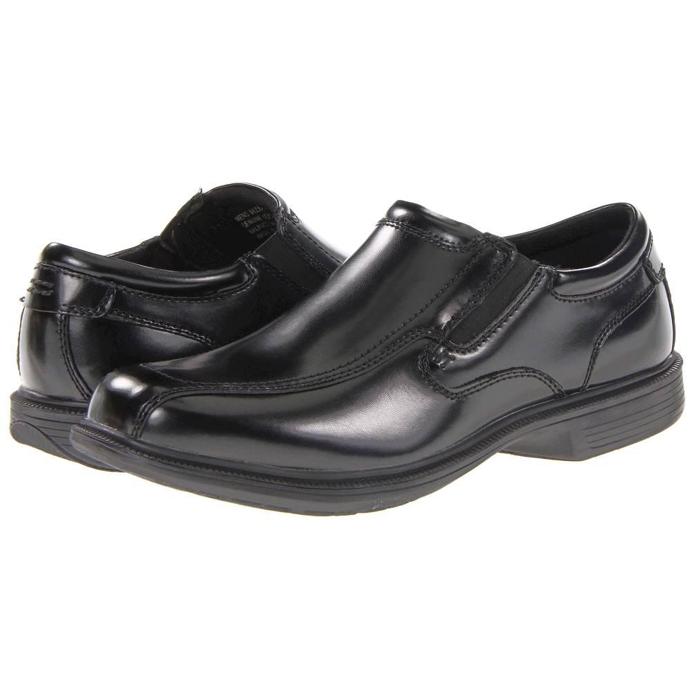 ナンブッシュ メンズ シューズ・靴 スリッポン・フラット【Bleeker St. Bicycle Toe Slip-On】Black