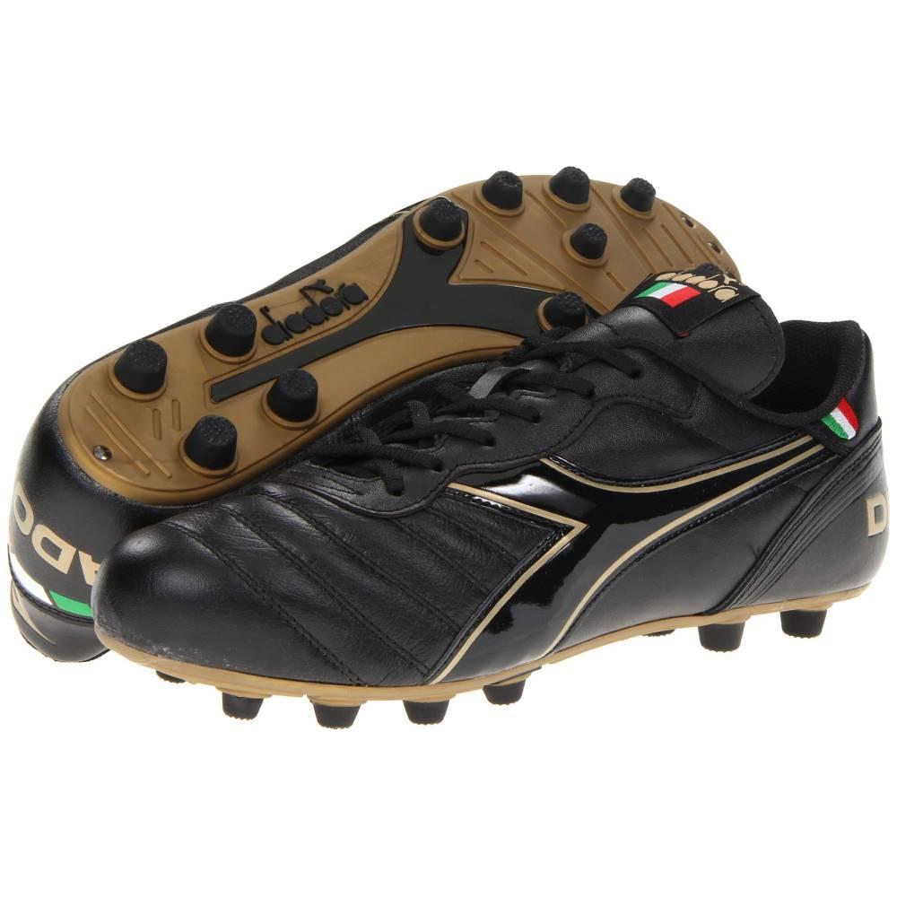 ディアドラ メンズ サッカー シューズ・靴【Brasil Classic】Black/Gold