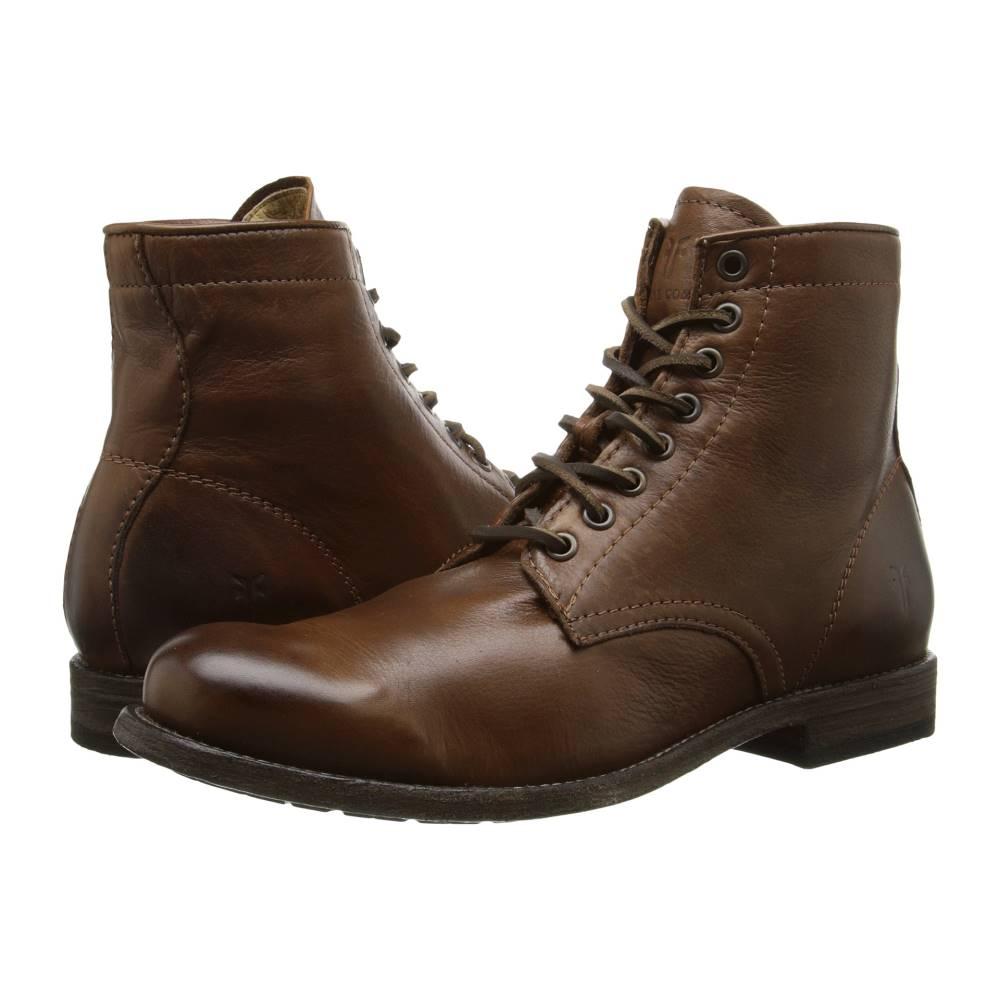 フライ メンズ シューズ・靴 ブーツ【Tyler Lace Up】Cognac Soft Vintage Leather