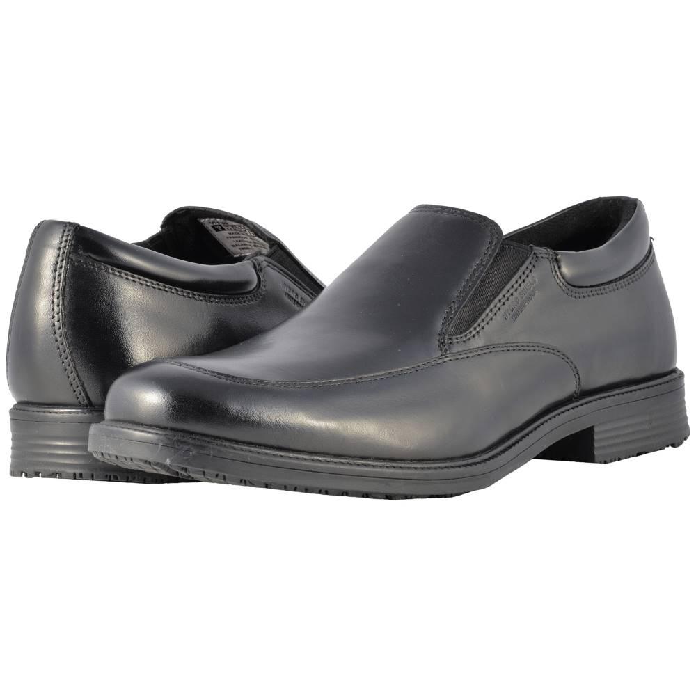 ロックポート メンズ シューズ・靴 スリッポン・フラット【Essential Details Waterproof Slip On】Black